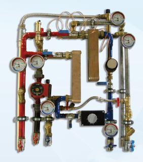 Węzeł cieplny Termen TM-D dla budownictwa jednorodzinnego