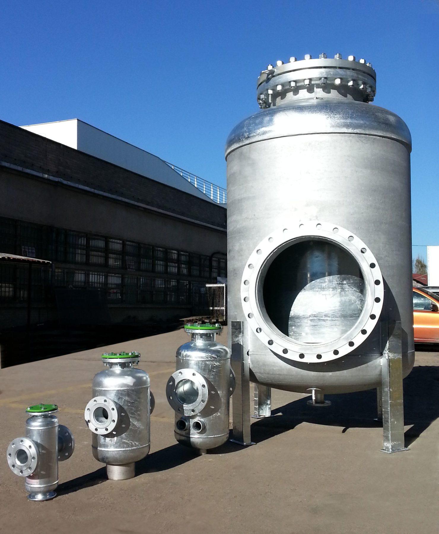 producent stalowych zbiorników ciśnieniowych