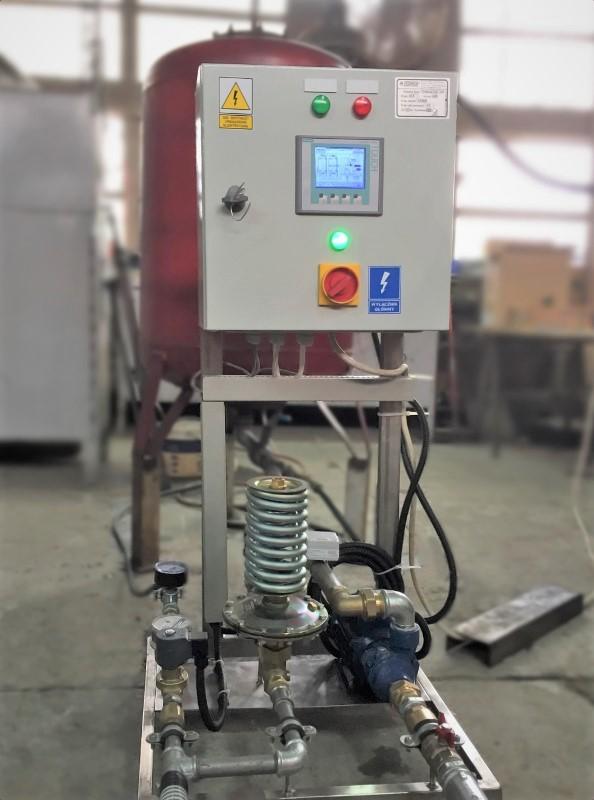 Panel Siemens Sismatic sterujący zestawem TERMAX