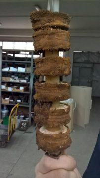 Zanieczyszczony stos magnetyczny