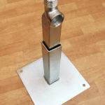 Konstrukcja wsporcza dla mniejszych sprzęgieł