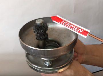 Separator zanieczyszczeń z neodymowym magnesem