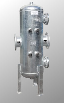 Filtroodmulniki DN200 wersja lewa i prawa