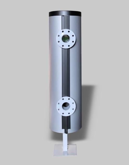 Sprzęgło hydrauliczne w izolacji Greiner na kontrukcji wsporczej