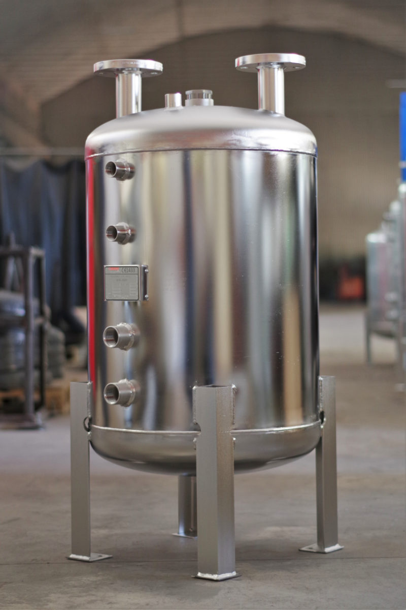 Stabilizator temperatury wykonany ze stali nierdzewnej SCWA-S200