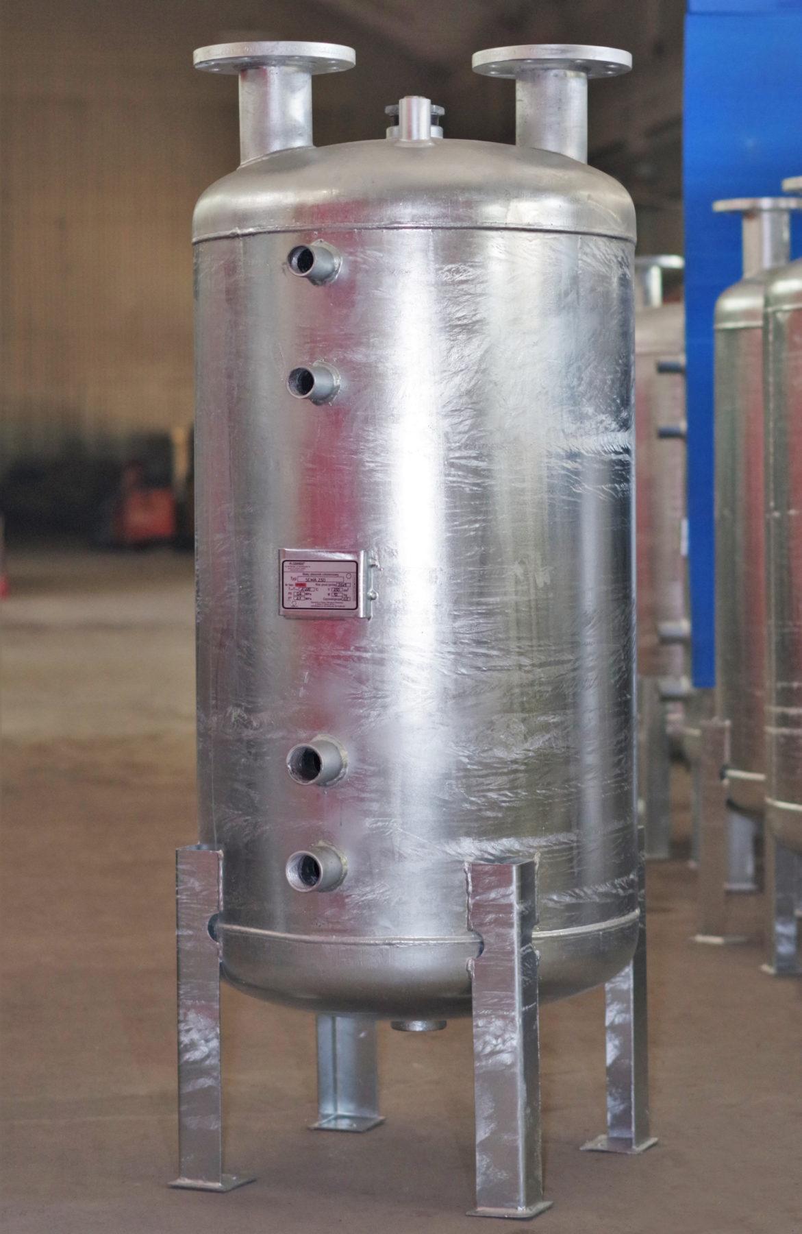 Stabilizator temperatury SCWA250 wersja ocynkowana