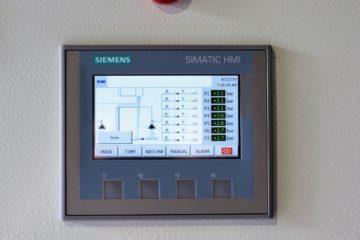 Panel sterowania Siemens Simatic BUW 7 obiegów