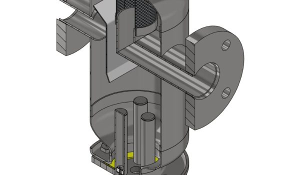 TerFOM-LUX widok filtra magnetycznego