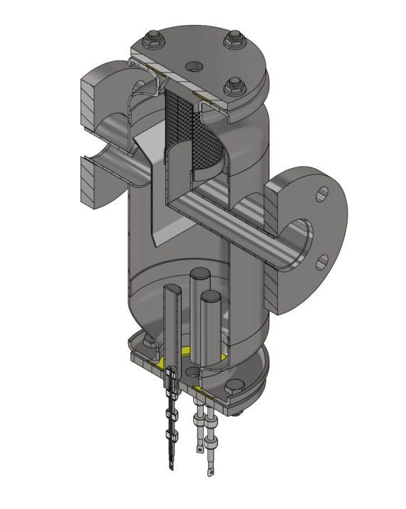 Filtroodmulnik z przepływowym filtrem magnetycznym TerFOM-LUX50
