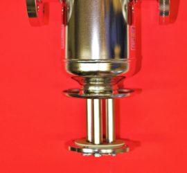 Filtroodmulnik z przepływowym filtrem magnetycznym