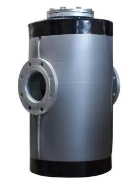 Nowa izolacja do filtroodmulnika DN150